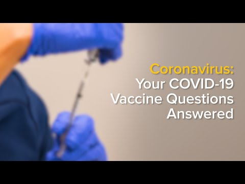 COVID-19 Vaccine - What to Know Before You Get the Shot