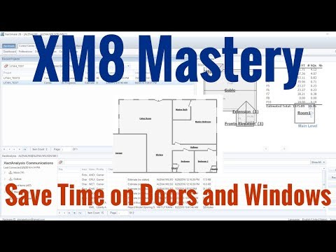 How to Save Time Adding Doors and Windows