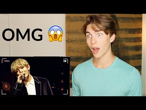 Singer Reacts To BTS V - STIGMA (live) - (Taehyung Singing Reaction)