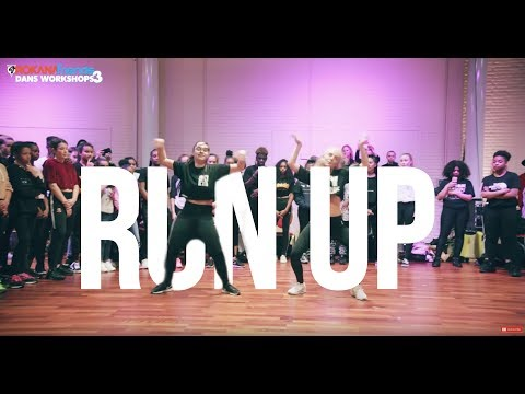 Major Lazer - Run Up | Dancehall Choreography By Julide & Valery | Orokana Friends Workshops