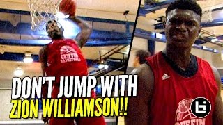 Zion Williamson Dunks ALL OVER Steph Curry