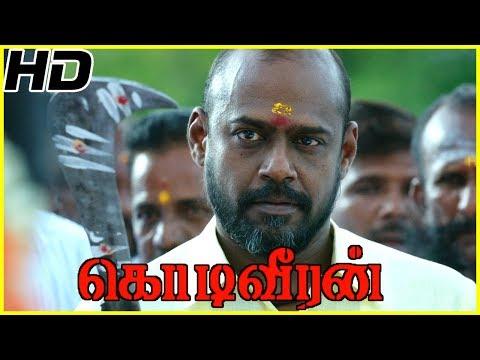 Pasupathy Gets Released From Jail | Kodiveeran Scenes | Poorna Shaves Her Head For Pasupathy