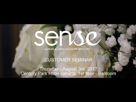 SENSE LAUNDRY - CUSTOMER SEMINAR, JAKARTA 2017