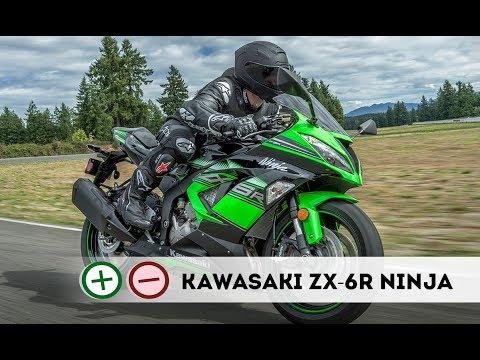 Kawasaki ZX-6R Ninja  Плюсы и Минусы