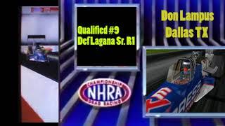 OHRA Sunoco Drag Racing Series Top Fuel Pomona Round 2 Eliminations