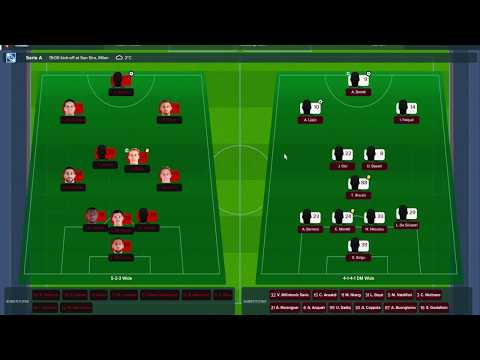 FM18 Amazing AC Milan! Let's Play Football Manager 2018 #8 (vs Torino)