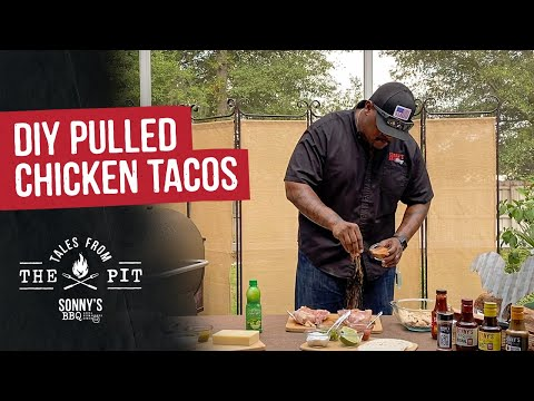 DIY Pulled Chicken Tacos | Tales From The Pit