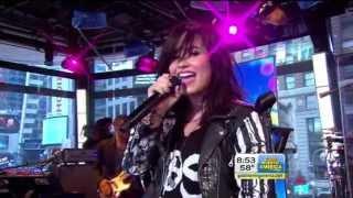 demi lovato give your heart a break LIVE!!  @ GMA ABC Ch 7
