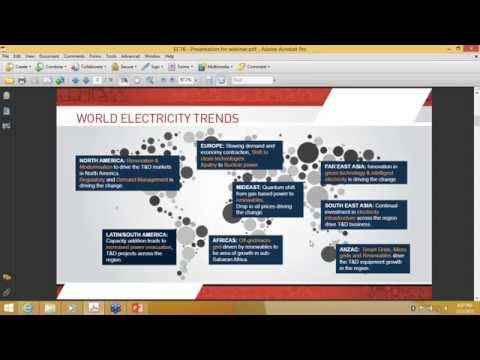 Innovative webinar on Power sector & electrical products