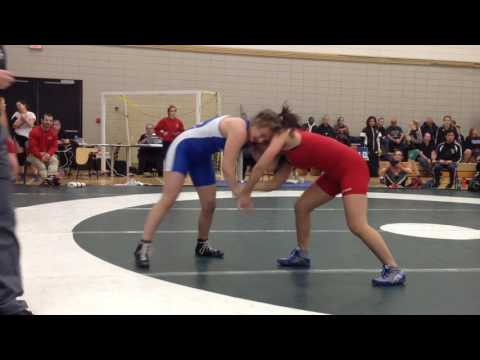 2016 Huskie Open: 51 kg Olivia Mark vs. Melissa Fryer