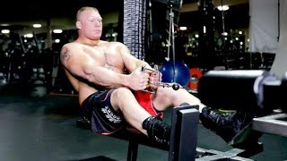 brock lesnar workouts in gym