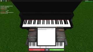 In the End - Linkin Park on a ROBLOX piano.