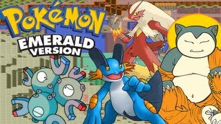 Pokemon Emerald 3rd Gen VBA Link RSE WiFi Battle| Parsimonious Predictions & Balky Blaziken
