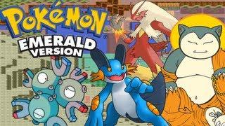 Pokemon Emerald 3rd Gen VBA Link RSE WiFi Battle| Parsimonious Predictions & Balky Blaziken