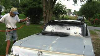 64 Impala goes black 027