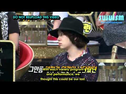 ENG SUB 110830 SBS Strong Heart Episode 93  Super Junior Cuts
