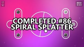 Completed #86  Spiral Splatter - $5 for 1,000 Gamerscore - Speed, Puzzles, and Frustration