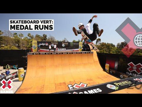 MEDAL RUNS: Pacifico Skateboard Vert | X Games 2021