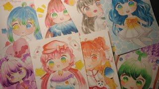 Na_chan . tổng hợp những tranh vẽ chibi dễ thương nhất của Na