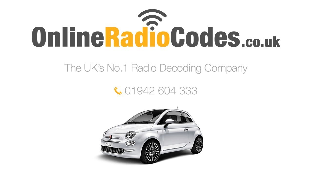 Fiat 500 Radio Code Unlock Your Stereo With A2C, BP, CM