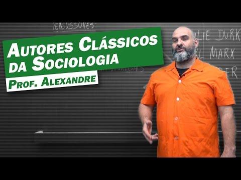 Видео Três pensadores fundadores da Sociologia