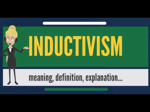What is INDUCTIVISM? What does INDUCTIVISM mean? INDUCTIVISM meaning, definition & explanation