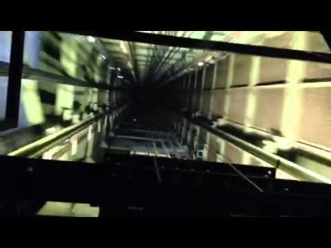 TV Tower Berlin - elevator up