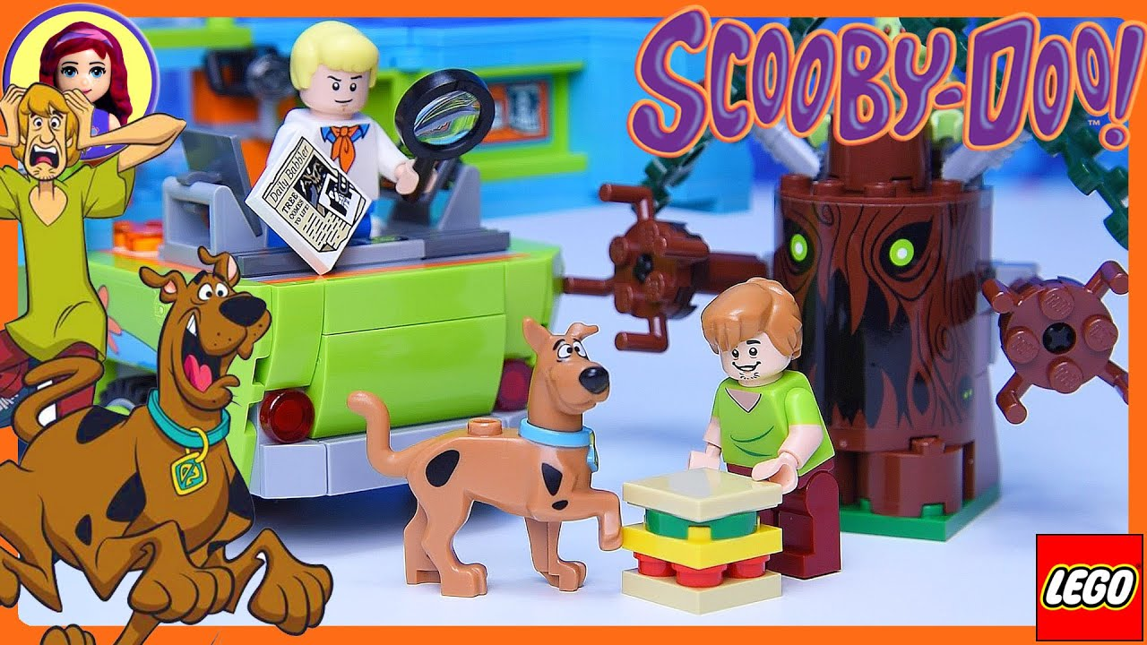 Lego Scooby Doo The Mystery Machine Build Review Silly Play Kids