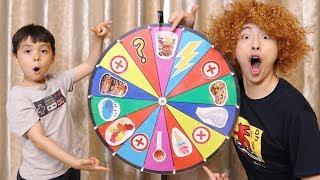 신기한 마법 룰렛이 나타났어요! 앗싸 뽀로로 짜장 당첨됐다!! Kids Playing with Magic Wheel like Mashu