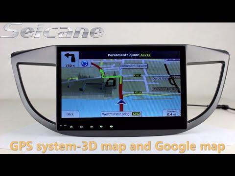 """10.1"""" Android 5.1 2013 2015 Honda CRV Sat Nav cd radio navigation system with OBD2 DVR SWC"""