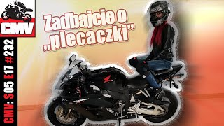 """Zadbajcie o """"plecaczki"""" - minimum na motocykl dla pasażera - CMV#232"""