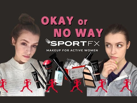 OKAY or NO WAY     SportFX Makeup - First Impressions