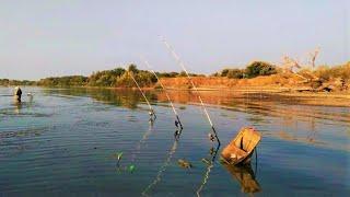 Рыбалка на РЕКЕ !!! Донской САЗАН !! Лютые ПОКЛЁВКИ!!!