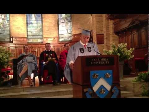2012 Executive MBA Commencement Speech at Columbia University by Kenneth Correa