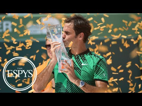 Roger Federer: Always Winning With Grace | The ESPYS | ESPN