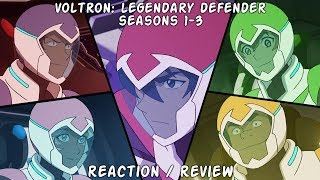 [Review] [Reaction] Voltron: Legendary Defender seasons 1-3