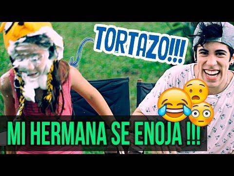 TORTAZO EN LA CARA DE MI HERMANA Y ELLA SE ENOJA | Alejo Igoa