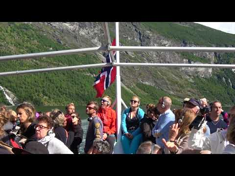 The Geirangerfjord - sight-seeing boat trip (Norway/Norge)