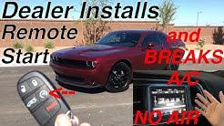 HOW MUCH?! to Have REMOTE START Installed on My 2017 Dodge Challenger SXT Plus - Dealer Installation