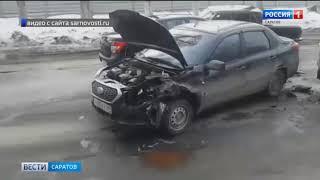 Движение на Ново-Астраханском шоссе оказалось заблокировано