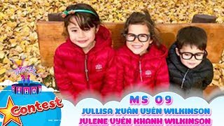 Biệt tài tí hon online | MS 09: Jullisa Xuân Uyên Wilkinson, Julene Uyên Khanh Wilkinson