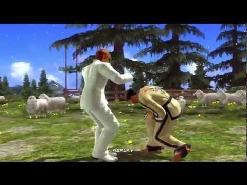 Tekken 6 - Hwoarang vs Baek.