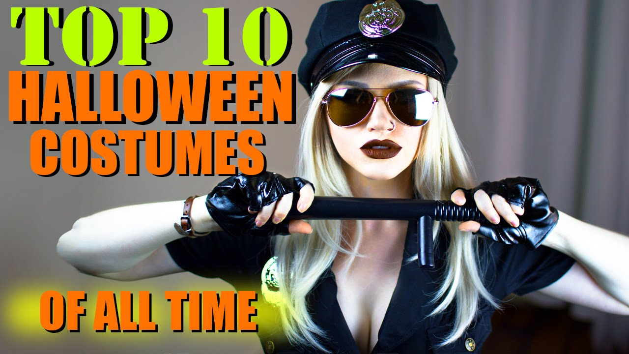 TOP 10 HALLOWEEN COSTUME IDEAS  sc 1 st  YouTube : top funny halloween costumes  - Germanpascual.Com