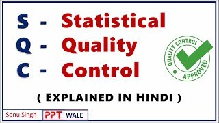 SQC IN HINDI | Statistical Quality Control | Production & Operation management | BBA/MBA/BTech | ppt
