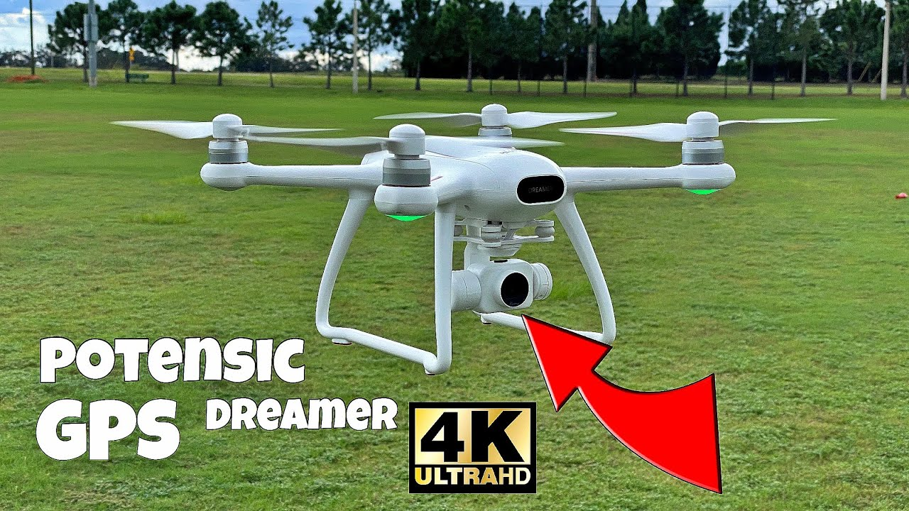 Download Potensic Dreamer 4K - Reliable UHD Drone in the $200's - Setup & Test!