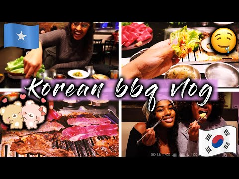 KOREAN BBQ for FIRST TIME || Vlog 2020 ||