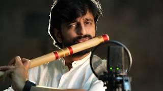KRISHNA FLUTE MUSIC   Mahabharat Theme   Sriharsha #1MinBambooTaleSeries