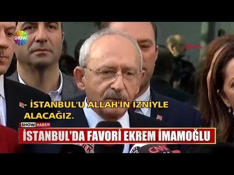 İstanbul'da Favori Ekrem İmamoğlu
