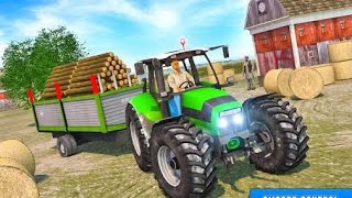 Real Tractor Drive Cargo 3D:New Tractor Trolley game 2020 Mountain Driving ANDROID GAMEPLAY. screenshot 4