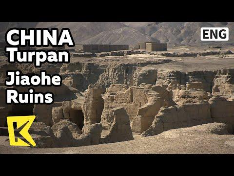 【K】China Travel-Turpan[중국여행-투루판]실크로드 역사의 현장, 자오허고성/Jiaohe Ruins/Silk Road/Timurid Dynasty/Building